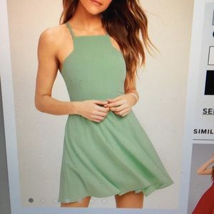 Lulus Call To Charms Skater Dress